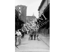 107 Ponte Vecchio con macerie in Via Por Santa Maria