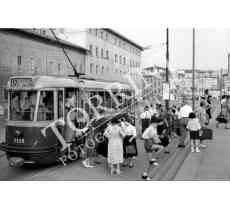 108 Tram in Piazza Stazione a Firenze