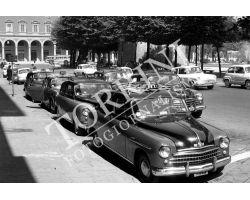 Taxi in Piazza Libertà