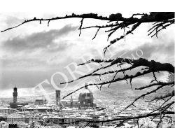 162 Veduta Duomo con neve