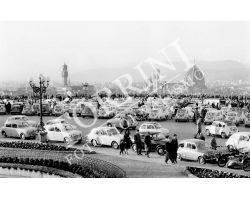 Auto Fiat al Piazzale Michelangelo