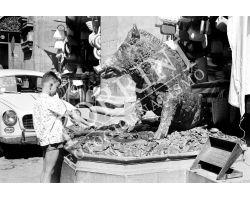 Bambino mercato del Porcellino