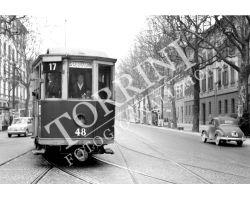 Tram e auto nel Viale dei mille