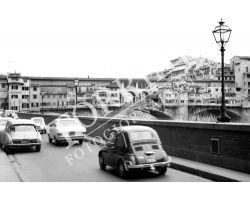 218 Fiat 500 Lungarno Acciaiuoli Ponte Vecchio