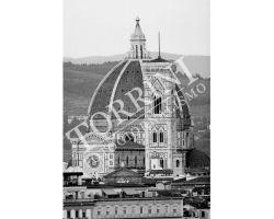 Duomo e Campanile di Giotto bianco nero