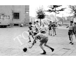233 Bambini in piazza Cestello in San frediano