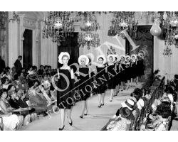 Sfilata di moda nella sala Bianca di Palazzo pitti