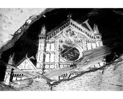 Riflesso Santa Croce bianco nero