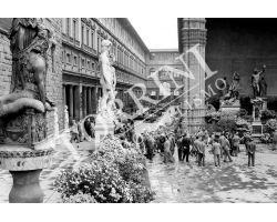 269 Mostra dei fiori in Piazza Signoria e Uffizi