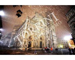 Duomo con nevischio