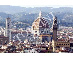 Veduta Duomo Palazzo vecchio dal Forte Belvedere