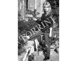 Brigitte Bardot a Villa San Michele